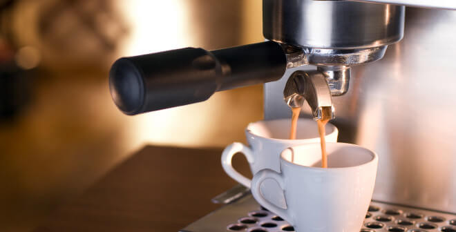 espressomaskin test