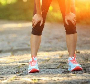 Vad gör benen trötta efter löpning?