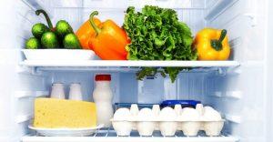 Hur ska maten förvaras i kylskåpet?