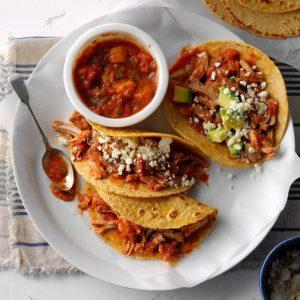 Tacos med fläskfilé och mangosalsa